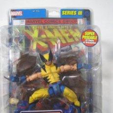 Figuras y Muñecos Marvel: LOBEZNO WOLVERINE DE MARVEL LEGENDS SERIE III CON COMIC AÑO 2003 NUEVO. Lote 72256099