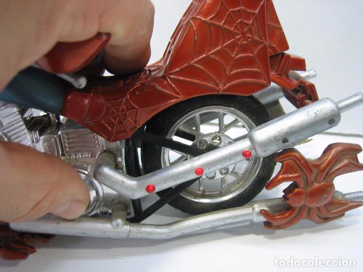 Figuras y Muñecos Marvel: Moto de Spiderman de Marvel - Foto 4 - 74205971
