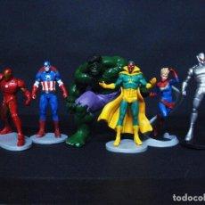 Figuras y Muñecos Marvel: FIGURA O MUÑECO GOMA PVC - LOS VENGADORES - THE AVENGERS - DISNEY STORE. Lote 76174035