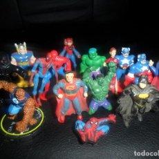 Figuras y Muñecos Marvel: LOTE DE MINIFIGURAS SUPERHEROES - . Lote 76209739