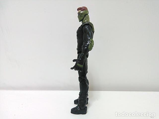 Figuras y Muñecos Marvel: Figura de Harry Osborn el duende ver (Green Goblin) de la película Spider-Man (Spiderman) 3 - 2006 - Foto 2 - 78582801
