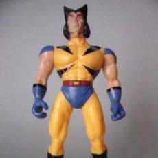 Figuras y Muñecos Marvel: X-MEN WOLVERINE LOBEZNO RARA FIGURA BOOTLEG DE GOMA DE 14 CM. Lote 80881487