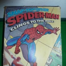 Figuras y Muñecos Marvel: SPIDER-MAN - SPIDERMAN - SNAP TOGETHER - MPC - FUNDIMENSIONS - MADE IN USA 1978. Lote 81035912