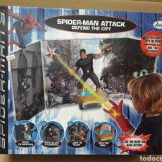Figuras y Muñecos Marvel: SPIDERMAN 3 ATTACK DEFEND THE CITY IMC TOYS NUEVO A ESTRENAR!. Lote 81993862