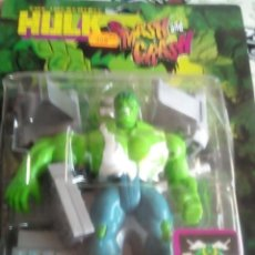 Figuras y Muñecos Marvel: MUÑECO DE PVC HULK AÑOS 90 SIN ABRIR. Lote 83850312