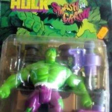 Figuras y Muñecos Marvel: MUÑECO DE PLASTICO PVC HULK AÑOS 90. Lote 83850692
