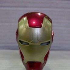 Figuras y Muñecos Marvel: IRON MAN CASCO DE PVC DE 10CM EN CAJA. Lote 85495664