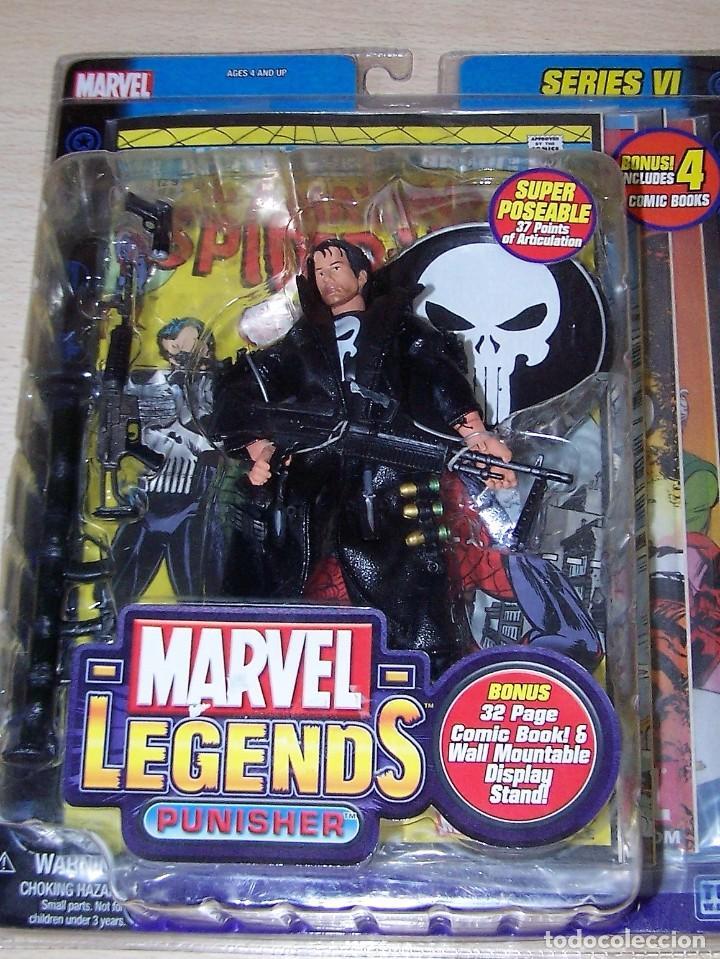 Marvel Leyendas Vintage Series El Castigador Figura De Acción-Nuevo en la acción