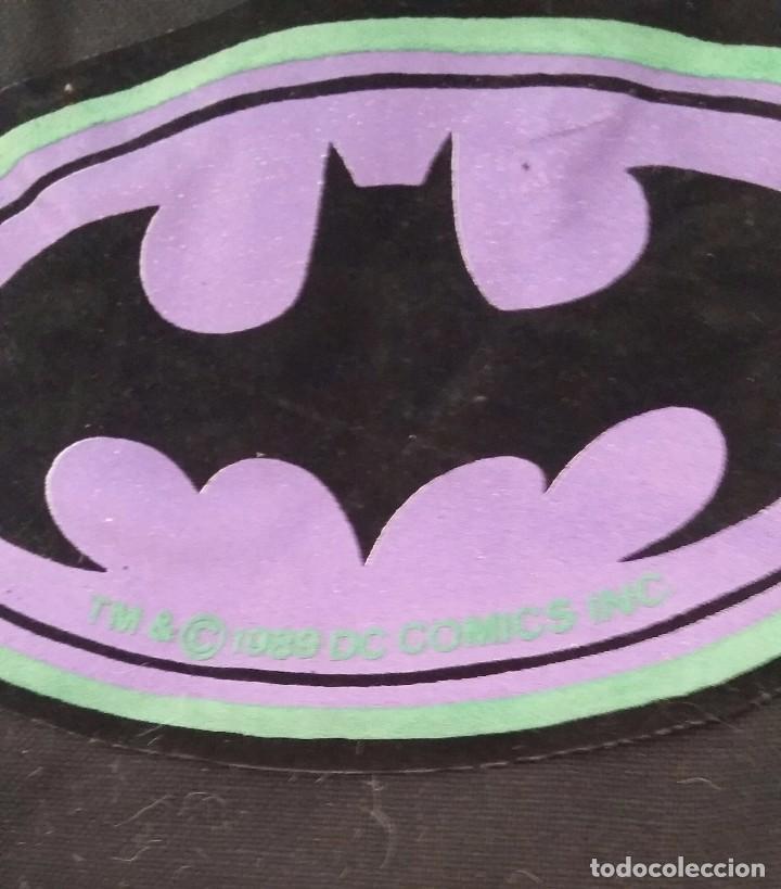 Figuras y Muñecos Marvel: Mochila de Batman de DC Comics año 1989 - Foto 2 - 86850844