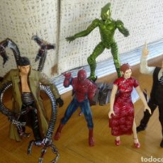 Figuras y Muñecos Marvel: SPIDERMAN DUENDE VERDE OCTOPUS MJ JOHNA JAMESON PELÍCULA RAIMI. Lote 91370835