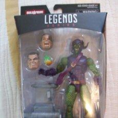 Figuras y Muñecos Marvel: DUENDE VERDE GREEN GOBLIN MARVEL LEGENDS EN BLISTER. SIMILAR DC UNIVERSE CLASSICS. SANDMAN SERIES. Lote 92507285