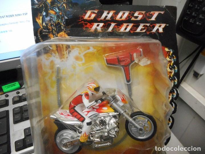 Figuras y Muñecos Marvel: ghost rider el motorista fantasma por abrir nuevo marvel famosa - Foto 3 - 93176940