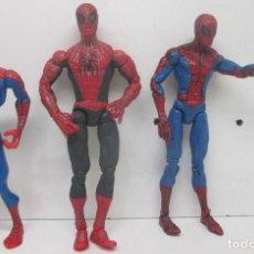 Figuras y Muñecos Marvel: LOTE 3 FIGURAS MARVEL, SPIDERMAN, HASBRO / TOY BIZ. Lote 94413962