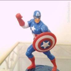 Figurines et Jouets Marvel: FIGURA MARVEL CAPITÁN AMÉRICA EN PEANA. Lote 133462441