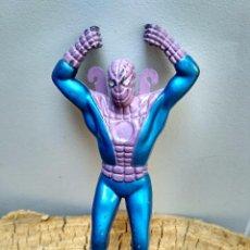 Figuras y Muñecos Marvel: ANTIGUA FIGURA BOOTLEG FAKE SPIDERMAN MARVEL PARACAIDISTA. Lote 95583495