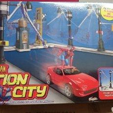 Figuras y Muñecos Marvel: ACTION CITY SPYDERMAN TOYBIZ A ESTRENAR. Lote 95677530