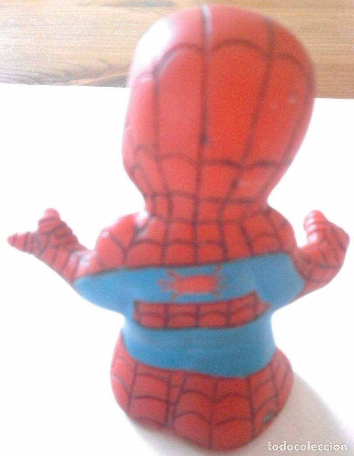 Figuras y Muñecos Marvel: FIGURA DE GOMA - SPIDERMAN - MARVEL - TOYBIZ - ALTO 6,8CM - Foto 2 - 98749867