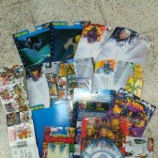 Figuras y Muñecos Marvel: LOTE BLISTERS MAS CATALOGOS MARVEL LEGENDS 14 PIEZAS. Lote 99545679