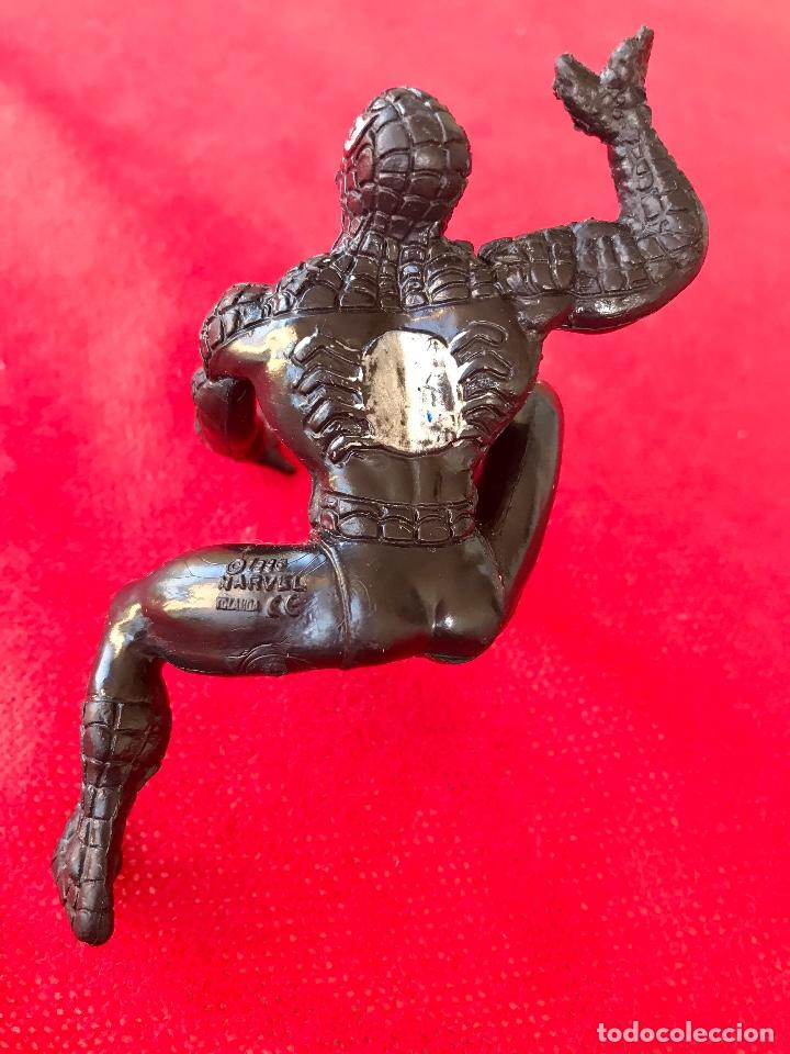 Figuras y Muñecos Marvel: Spiderman negro 1986 marvel black Spiderman 11cm - Foto 4 - 100196567