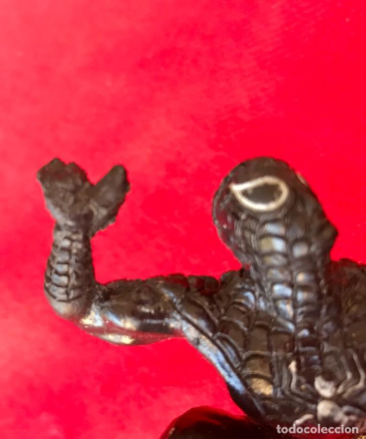 Figuras y Muñecos Marvel: Spiderman negro 1986 marvel black Spiderman 11cm - Foto 10 - 100196567