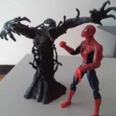 Figuras y Muñecos Marvel: FIGURAS SPIDERMAN VS VENOM MARVEL 2006 HASBRO SPIDER-MAN (VER DESCRIPCIÓN). Lote 102716827