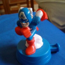 Figuras y Muñecos Marvel: MUÑECO CAPITAN AMERICA SUPERHERO SUPER HERO SQUAD MARVEL BURGUER KING. Lote 103583651