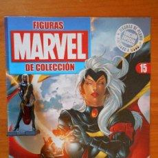 Figuras y Muñecos Marvel: FIGURA MARVEL COLECCION ALTAYA - DE PLOMO - Nº 15 TORMENTA - INCLUYE REVISTA (7C). Lote 103675631