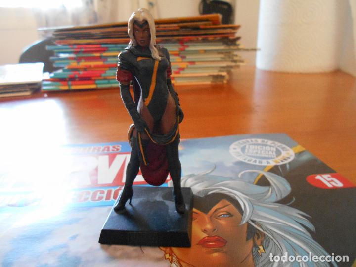 Figuras y Muñecos Marvel: FIGURA MARVEL COLECCION ALTAYA - DE PLOMO - Nº 15 TORMENTA - INCLUYE REVISTA (7C) - Foto 2 - 103675631