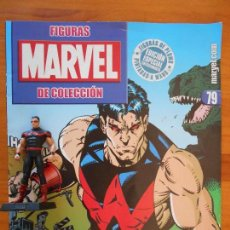 Figuras y Muñecos Marvel: FIGURA MARVEL COLECCION ALTAYA - DE PLOMO - Nº 79 HOMBRE MARAVILLA - INCLUYE REVISTA (7C). Lote 103681419