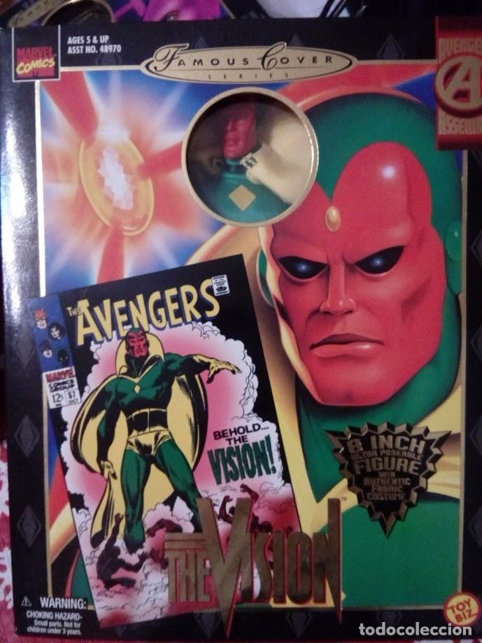 Figuras y Muñecos Marvel: Famous Cover - Vision - Toy Biz - Figura articulada - Foto 2 - 104309823