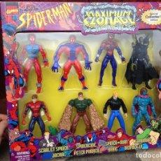 Figuras y Muñecos Marvel: LOTE MASTERS SPIDERMAN MAXIMUM CLONAGE MARVEL COMICS1997 JACKAL SANDMAN SPIDERCIDE BEN REALLY. Lote 105059659