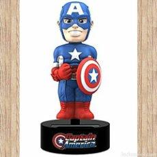 Figuras y Muñecos Marvel: FIGURA CABEZÓN CAPITÁN AMÉRICA, 15CM, MOVIMIENTO ENERGÍA SOLAR, MARVEL, NUEVO, PRECINTADO. Lote 105597388