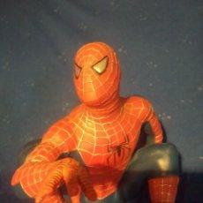 Figuras y Muñecos Marvel: FIGURA DE BOTELLA DE COLONIA INFANTIL DE SPIDER-MAN. Lote 105647819