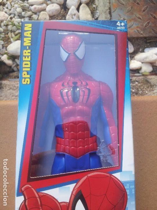 Figuras y Muñecos Marvel: Spiderman figura 30 cm nuevo - Foto 2 - 105772395