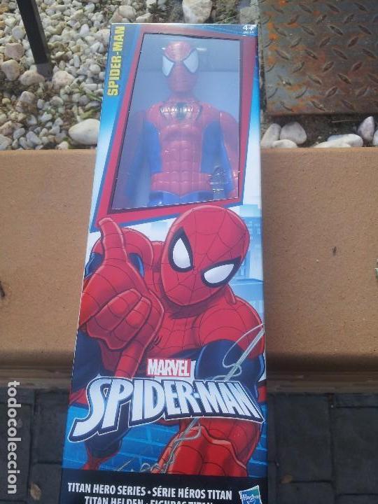SPIDERMAN FIGURA 30 CM NUEVO (Juguetes - Figuras de Acción - Marvel)