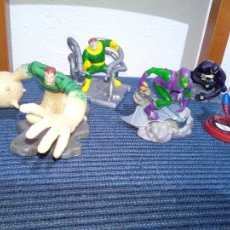 Figuras y Muñecos Marvel: LOTE 5 FIGURAS MARVEL SUBS 2011 SPIDERMAN ENEMIGOS. Lote 105872375