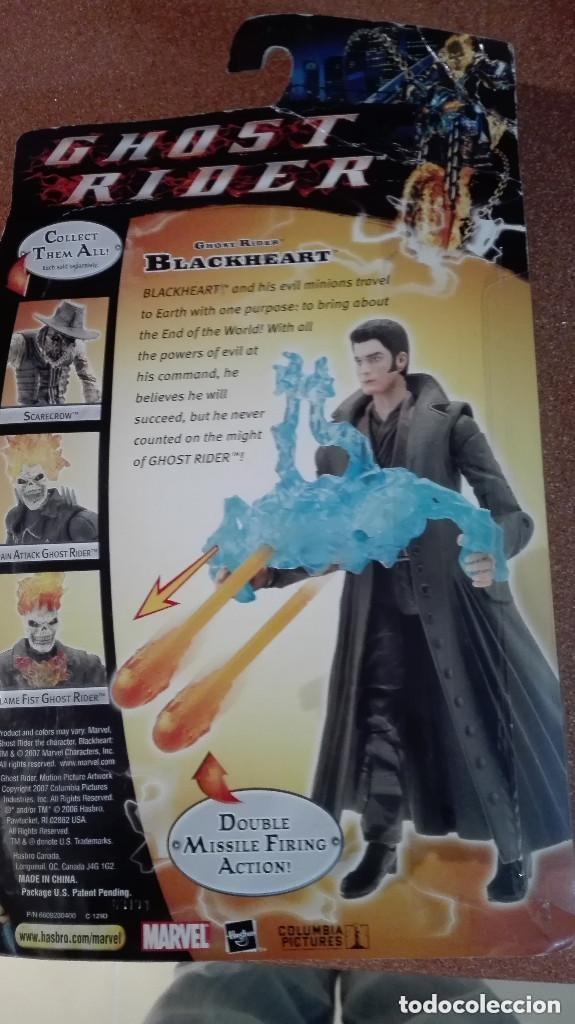Figuras y Muñecos Marvel: FIGURA GHOST RIDER BLACKHEART MARVEL HASBRO FAMOSA GIOCHI PREZIOSI,2006 - Foto 2 - 105923779
