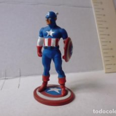 Figuras y Muñecos Marvel: -FIGURA DE COLECCION MARVEL -CAPITAN AMERICA- 2004 -FIGURA METALICA -. Lote 106145571
