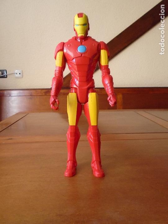 Figuras y Muñecos Marvel: FIGURA MARVEL DE IRON MAN (EL HOMBRE DE HIERRO) HASBRO MARVEL 2014 - Foto 3 - 107942963
