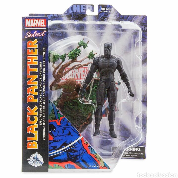 Figuras y Muñecos Marvel: Black Panther en blister - Foto 3 - 111988991