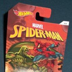 Figuras y Muñecos Marvel: JADED: EL COCHE DE SCORPION (SPIDERMAN) - HOT WHEELS 1/64. Lote 113160323