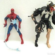 Figuras y Muñecos Marvel: FIGURAS DE ACCIÓN SPIDERMAN Y VENOM. Lote 113838158