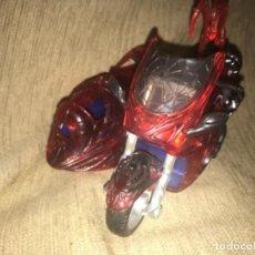 Figuras y Muñecos Marvel: ANTIGUA MOTO CON SIDECAR SPIDERMAN 1988 MARVEL TOY BIZ. Lote 190897192