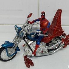 Figuras y Muñecos Marvel: SPIDERMAN CON MOTO HARLEY SUPERHÉROES MARVEL. Lote 114935870