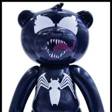 Figuras y Muñecos Marvel: MUÑECO DE VENENO / VENOM SPIDERMAN 13 CMS - TEDDY BEAR MARVEL OFICIAL - NUEVO EN CAJA DESCATALOGADO. Lote 116332903