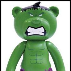 Figuras y Muñecos Marvel: MUÑECO HULK AVENGERS VENGADORES 13 CMS - TEDDY BEAR MARVEL OFICIAL - NUEVO EN CAJA DESCATALOGADO. Lote 116333947
