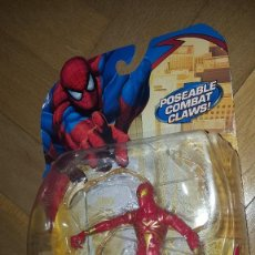 Figuras y Muñecos Marvel: SPIDERMAN IRON SPIDERMAN DE MARVEL. Lote 118671147