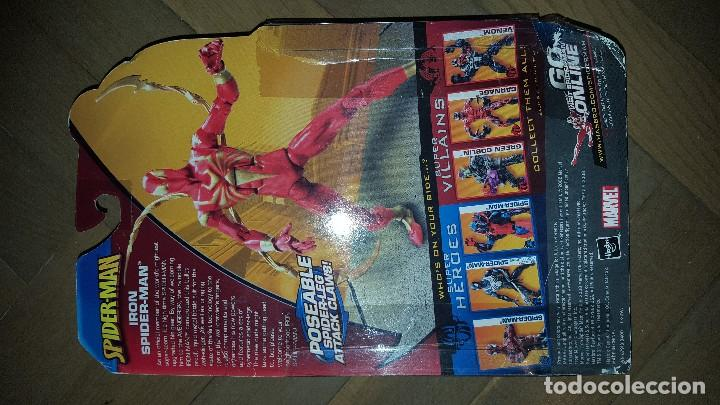 Figuras y Muñecos Marvel: SPIDERMAN IRON SPIDERMAN DE MARVEL - Foto 2 - 118671147