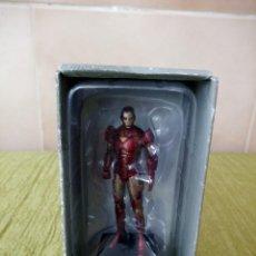 Figuras y Muñecos Marvel: FIGURA DE PLOMO COLECCIONABLE IRON MAN DE MARVEL 2006 N12. Lote 118699447