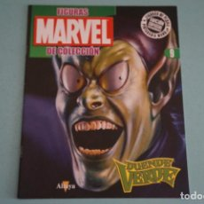 Figuras y Muñecos Marvel: FASCÍCULO DE SUPERHEROES DUENDE VERDE Nº 9 DE FIGURAS DE PLOMO DE MARVEL DE ALTAYA LOTE 14. Lote 119360179